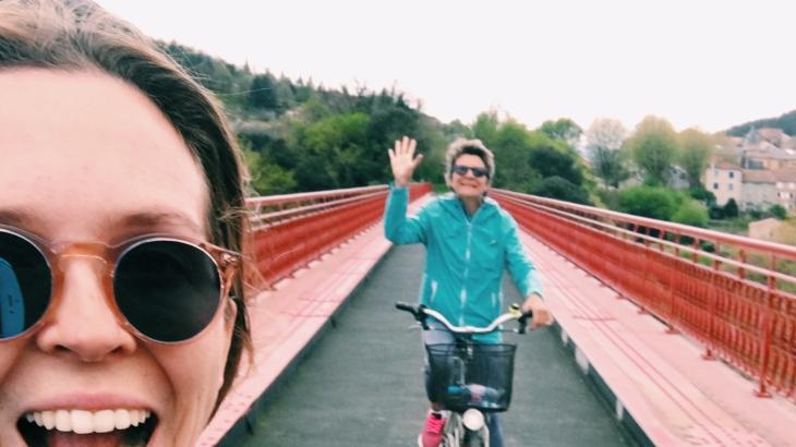 mother daughter bike